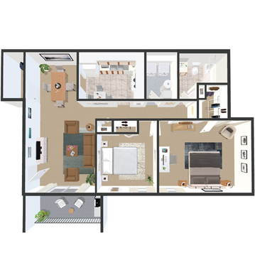 Floor Plans | The Devonshire Apartments | Louisville KY